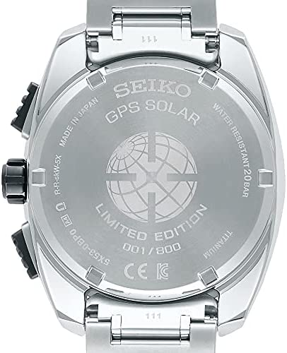 41nZlCfifAS. AC  - SEIKO ASTRON SBXC101 [Global Line Sport 5X Titanium 2021 Limited Edition Men's (Silicon Band Included)]