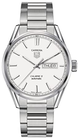 41sDHk8ky1L. AC  - Tag Heuer Carrera Automatic Silver Dial Stainless Steel Mens Watch WAR201BBA0723