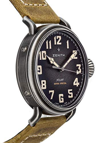 51 dEDUOMrL. AC  - Zenith Pilot Mechanical(Automatic) Grey Dial Watch 11.1940.679/91.C807 (Pre-Owned)