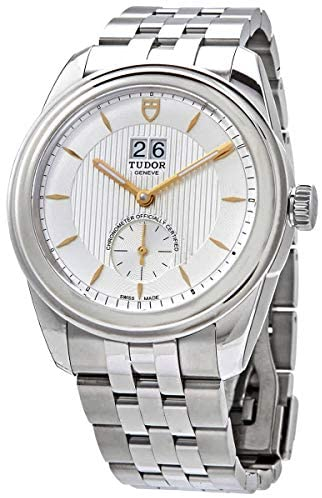 5143m5SzSLL. AC  - Tudor Glamour Double Date Automatic Silver Dial Men's Watch M57100-0002