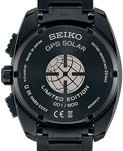 51Lwgh NeaS. AC  - SEIKO ASTRON SBXC105 [Global Line Sport 5X Titanium 2021 Limited Edition Men's (Silicon Band Included)] Watch Japan DomesticModel]