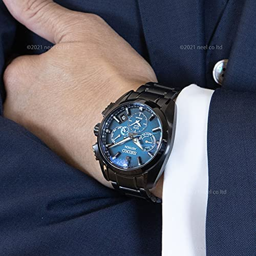 51RCXc7aQ0S. AC  - SEIKO ASTRON SBXC105 [Global Line Sport 5X Titanium 2021 Limited Edition Men's (Silicon Band Included)] Watch Japan DomesticModel]