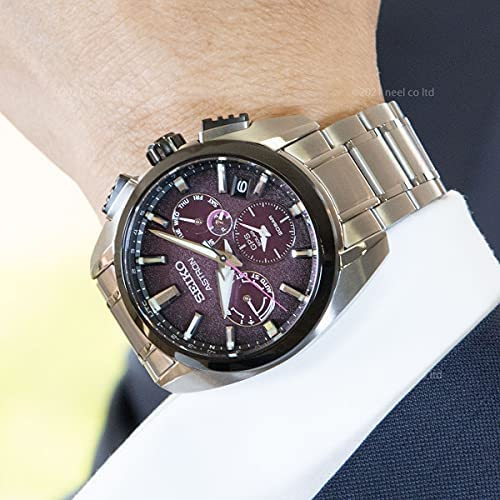 51WEvsK03xS. AC  - SEIKO ASTRON SBXC101 [Global Line Sport 5X Titanium 2021 Limited Edition Men's (Silicon Band Included)]