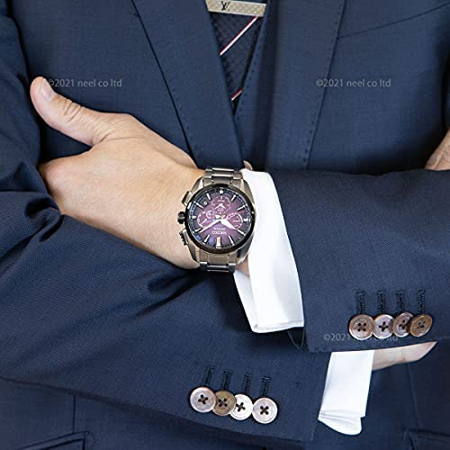 51X5KDriKES. AC  - SEIKO ASTRON SBXC101 [Global Line Sport 5X Titanium 2021 Limited Edition Men's (Silicon Band Included)]