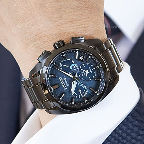 51ehf3ncQPS. AC  - SEIKO ASTRON SBXC105 [Global Line Sport 5X Titanium 2021 Limited Edition Men's (Silicon Band Included)] Watch Japan DomesticModel]